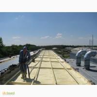 Теплоизоляция, утепление, термо- и гидроизоляция пенополиуретаном напыляемым