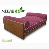 Кровать для собаки из натурального дерева, Мебель для животных