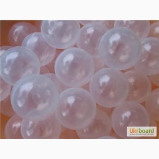 Прозрачные шарики для сухих бассейнов