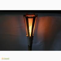 Настольный светильник ночник из бамбука ручной работы