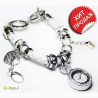 Часы браслет Pandora часы Пандора (белые)