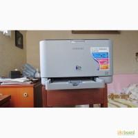 Принтер цветной лазерный CLP-310 + дополнительные картриджи