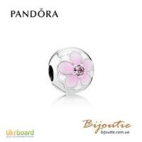 PANDORA шарм-клипса ― цветение манголии 792078PCZ Оригинал Пандора