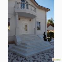 Балясины, ступени, колонны из бетона не требующая покраски искусственный мрамор