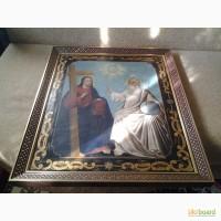 Продам икону конец 19 века три святых