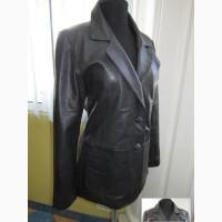 Модная женская кожаная куртка-пиджак JOY. Лот 112