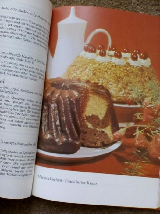 Фото 4. Книга рецептов выпечки (на немецком языке)