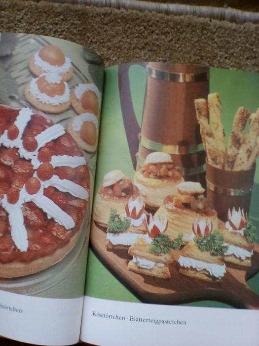 Фото 5. Книга рецептов выпечки (на немецком языке)