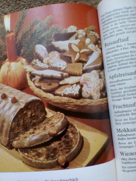 Фото 7. Книга рецептов выпечки (на немецком языке)