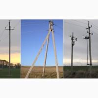 СВ 105-3, 6 стойка опоры линии электропередачи