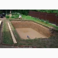Ремонт канализации, прокладка труб, копка котлаванов под бассейны