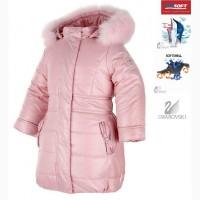 Пальто Pastels pink натуральный мех