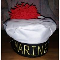 Костюмированный берет моряка
