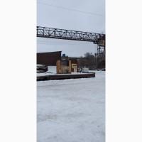Сдам открытые склады с мостовыми кранами