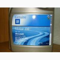 Оригинальное масло 5л GM 5w30 DEXOS 2