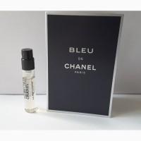 Пробник туалетной воды 2, 0 мл chanel bleu de chanel, франция