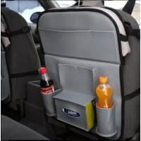 Органайзер на спинку сиденья в автомобиль с откидным столиком