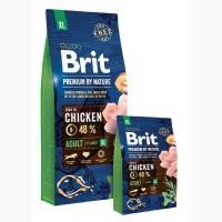 Brit Premium Adult XL Chicken корм для собак гигантских пород Брит Премиум