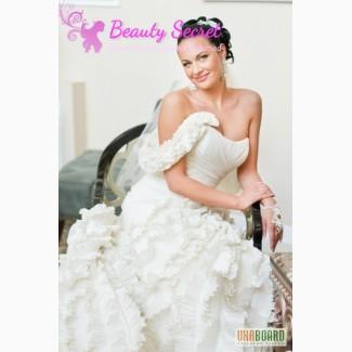 Макияж и прическа для невесты с выездом на дом