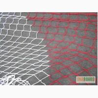 Сетка оградительная разделительная ячейка 80х80 цветная, косые полосы