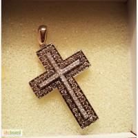 Продам золотий з діамантами хрестик Продам крестик