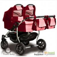 Универсальная коляска 2 в 1 Jumper для близнецов, Trans baby