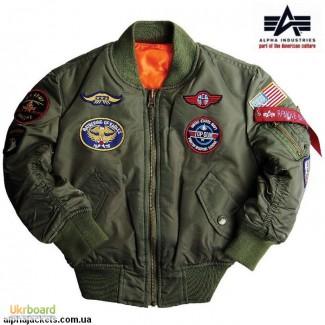 Детские летные куртки Alpha Industries (США)