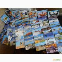 Коллекционные открытки Украины.1выпуск-(7 компл.)