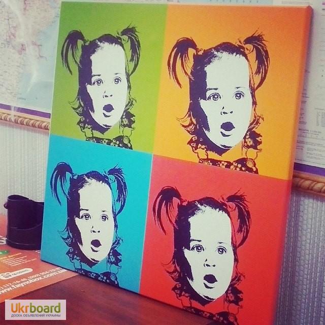 Портрет поп-арт по как сделать