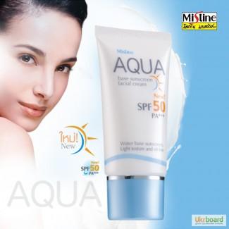 Солнцезащитный крем Mistine Aqua SPF 50