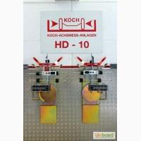 Лазерный стенд развал-схождения KOCH HD-10 Easy Touch