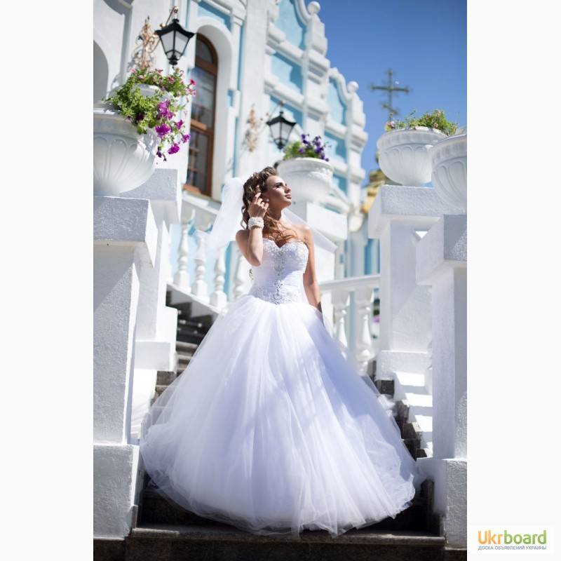 Свадебные Платья Шлейфом Купить