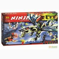 Конструктор Bela Ninja Атака дракона, 659дет., в кор. 53 30, 5 10400