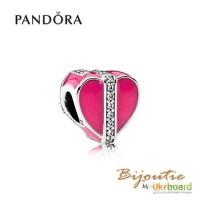 Оригинал PANDORA шарм 8213; подарок любви 792047CZ