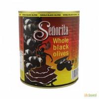 Маслины Senorita с косточкой, 3 кг