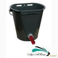 Ведро для выпойки теленка (ведро-поилка с соской и клапаном), 8 л