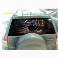 Наклейка на заднее стекло автомобиля 3D 130cm*70cm. Наклейки на автомобиль