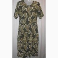 Платье женское, длинное. Французского бренда Morgan, 48-50 р-р. Дёшево. Цветное платье