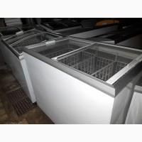 Продам лари морозильные б/у стекло на 300_500 л с корзинами