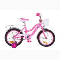 Велосипед для девочки FORMULA FLOWER 16 дюймов разные цвета