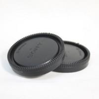 Задняя крышка объектива Sony NEX E + крышка тушки, body