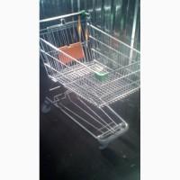 Тележка для супермаркета б/у