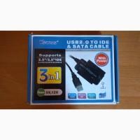 USB 2.0 to IDE, SATA, 3.5, 2.5