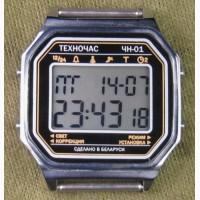 Часы ЭЛЕКТРОНИКА ЧН-01 с АЦНХ 5 мелодий арт.1132