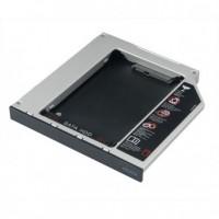 Жесткий диск Карман для 2.5 SATA HDD (h=9.5mm, Second HDD Caddy, матовый)