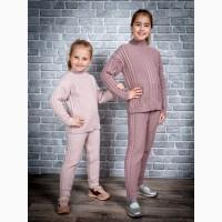 Детские вязанные костюмы для девочек 4-14 лет опт и розница