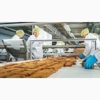 Работа на производстве-упаковка печенья