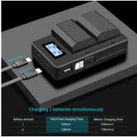 NP-FZ100 Скоростное зарядное устройство с дисплеем A9 A7R повербанк