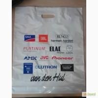 Полиэтиленовые пакеты с печатью от 100шт