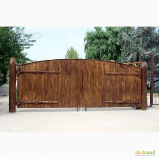 Ворота, калитки деревянные